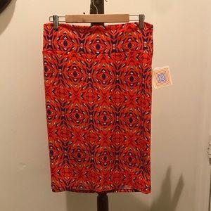 "LulaRoe ""Cassie"" skirt size XL, NWT"